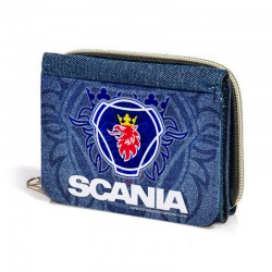 Cartera monedero SCANIA